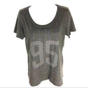 Nike Women's Gray T-Shirt L